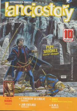 Copertina LANCIOSTORY ANNO 33 n.49 - LANCIOSTORY 2007   49, EDITORIALE AUREA