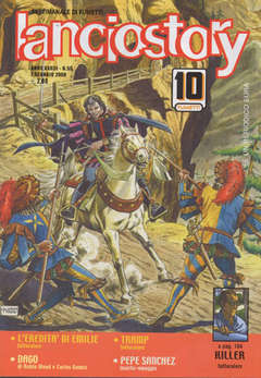 Copertina LANCIOSTORY ANNO 33 n.53 - LANCIOSTORY 2007   53, EDITORIALE AUREA