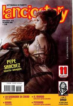 Copertina LANCIOSTORY ANNO 34 n.25 - LANCIOSTORY 2008   25, EDITORIALE AUREA