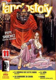 Copertina LANCIOSTORY ANNO 34 n.31 - LANCIOSTORY 2008   31, EDITORIALE AUREA