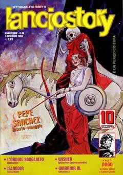 Copertina LANCIOSTORY ANNO 34 n.43 - LANCIOSTORY 2008   43, EDITORIALE AUREA