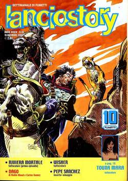 Copertina LANCIOSTORY ANNO 34 n.49 - LANCIOSTORY 2008   49, EDITORIALE AUREA