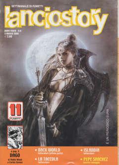 Copertina LANCIOSTORY ANNO 34 n.8 - LANCIOSTORY 2008    8, EDITORIALE AUREA