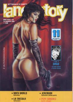 Copertina LANCIOSTORY ANNO 34 n.6 - LANCIOSTORY 2008    6, EDITORIALE AUREA