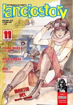 Copertina LANCIOSTORY ANNO 35 n.39 - LANCIOSTORY 2009   39, EDITORIALE AUREA
