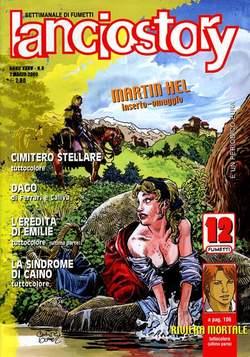 Copertina LANCIOSTORY ANNO 35 n.8 - LANCIOSTORY 2009   8, EDITORIALE AUREA