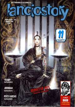 Copertina LANCIOSTORY ANNO 36 n.8 - LANCIOSTORY 2010  8, EDITORIALE AUREA