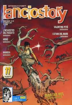 Copertina LANCIOSTORY ANNO 37 n.29 - LANCIOSTORY 2011   29, EDITORIALE AUREA