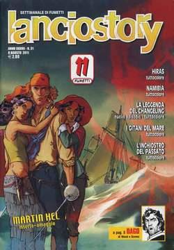 Copertina LANCIOSTORY ANNO 37 n.31 - LANCIOSTORY 2011   31, EDITORIALE AUREA