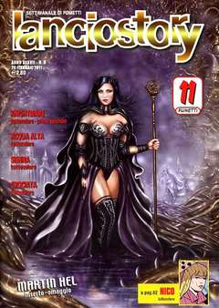 Copertina LANCIOSTORY ANNO 37 n.8 - LANCIOSTORY 2011   8, EDITORIALE AUREA