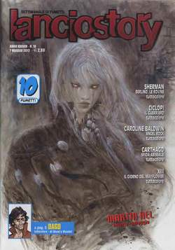 Copertina LANCIOSTORY ANNO 38 n.18 - LANCIOSTORY 2012   18, EDITORIALE AUREA