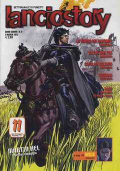 Copertina LANCIOSTORY ANNO 38 n.9 - LANCIOSTORY 2012   9, EDITORIALE AUREA