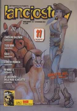 Copertina LANCIOSTORY ANNO 38 n.4 - LANCIOSTORY 2012   4, EDITORIALE AUREA
