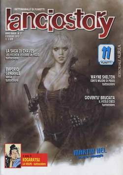 Copertina LANCIOSTORY ANNO 39 n.21 - LANCIOSTORY 2013   21, EDITORIALE AUREA