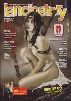 Copertina LANCIOSTORY ANNO 39 n.24 - LANCIOSTORY 2013   24, EDITORIALE AUREA