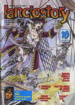 Copertina LANCIOSTORY ANNO 39 n.42 - LANCIOSTORY 2013   42, EDITORIALE AUREA
