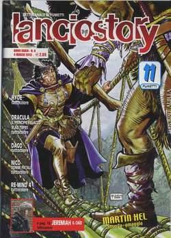 Copertina LANCIOSTORY ANNO 39 n.8 - LANCIOSTORY 2013   8, EDITORIALE AUREA