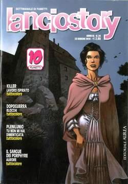 Copertina LANCIOSTORY ANNO 40 n.24 - LANCIOSTORY 2014   24, EDITORIALE AUREA