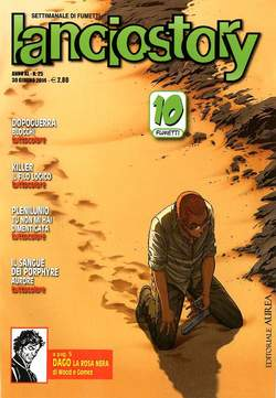 Copertina LANCIOSTORY ANNO 40 n.25 - LANCIOSTORY 2014   25, EDITORIALE AUREA