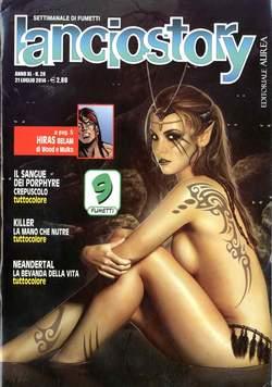 Copertina LANCIOSTORY ANNO 40 n.28 - LANCIOSTORY 2014   28, EDITORIALE AUREA