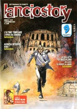 Copertina LANCIOSTORY ANNO 40 n.34 - LANCIOSTORY 2014   34, EDITORIALE AUREA