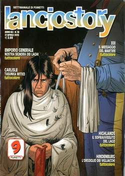 Copertina LANCIOSTORY ANNO 41 n.16 - LANCIOSTORY 2015   16, EDITORIALE AUREA
