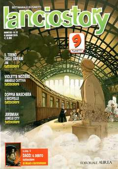 Copertina LANCIOSTORY ANNO 41 n.22 - LANCIOSTORY 2015   22, EDITORIALE AUREA