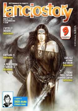 Copertina LANCIOSTORY ANNO 41 n.36 - LANCIOSTORY 2015   36, EDITORIALE AUREA