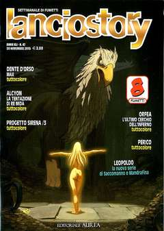 Copertina LANCIOSTORY ANNO 41 n.47 - LANCIOSTORY 2015   47, EDITORIALE AUREA