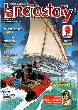 Copertina LANCIOSTORY ANNO 41 n.49 - LANCIOSTORY 2015   49, EDITORIALE AUREA