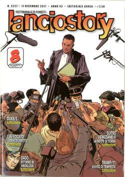 Copertina LANCIOSTORY ANNO 42 in poi n.2227 - LANCIOSTORY, EDITORIALE AUREA