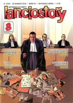 Copertina LANCIOSTORY ANNO 42 in poi n.2234 - LANCIOSTORY, EDITORIALE AUREA