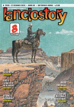 Copertina LANCIOSTORY ANNO 42 in poi n.2338 - LANCIOSTORY 2020 ANNO 46, EDITORIALE AUREA
