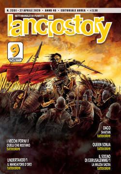 Copertina LANCIOSTORY ANNO 42 in poi n.2351 - LANCIOSTORY 2020 ANNO 46, EDITORIALE AUREA