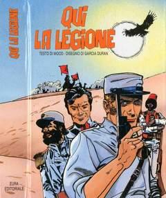 Copertina LANCIOSTORY COPERTINE X INSERT n.16 - QUI LA LEGIONE, EDITORIALE AUREA