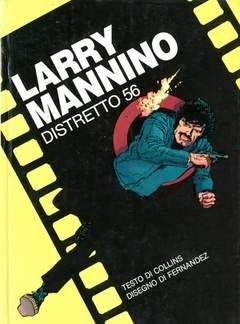 Copertina LANCIOSTORY INSERTI RILEGATI n.4 - LARRY MANNINO - DISTRETTO 56, EDITORIALE AUREA