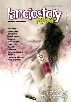 Copertina LANCIOSTORY MAXI n.10 - LANCIOSTORY MAXI, EDITORIALE AUREA