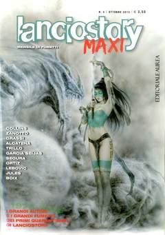 Copertina LANCIOSTORY MAXI n.4 - LANCIOSTORY MAXI, EDITORIALE AUREA