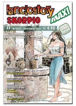 Copertina LANCIOSTORY SKORPIO MAXI n.17 - LANCIOSTORY SKORPIO MAXI, EDITORIALE AUREA