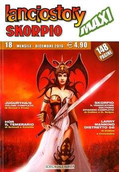 Copertina LANCIOSTORY SKORPIO MAXI n.18 - LANCIOSTORY SKORPIO MAXI, EDITORIALE AUREA