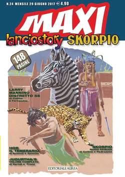 Copertina LANCIOSTORY SKORPIO MAXI n.24 - LANCIOSTORY SKORPIO MAXI, EDITORIALE AUREA