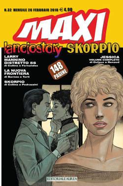 Copertina LANCIOSTORY SKORPIO MAXI n.32 - LANCIOSTORY SKORPIO MAXI, EDITORIALE AUREA