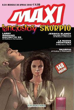 Copertina LANCIOSTORY SKORPIO MAXI n.34 - LANCIOSTORY SKORPIO MAXI, EDITORIALE AUREA