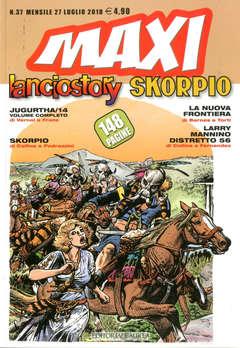 Copertina LANCIOSTORY SKORPIO MAXI n.37 - LANCIOSTORY SKORPIO MAXI, EDITORIALE AUREA