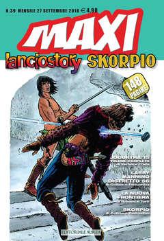 Copertina LANCIOSTORY SKORPIO MAXI n.39 - LANCIOSTORY SKORPIO MAXI, EDITORIALE AUREA