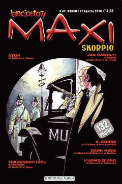 Copertina LANCIOSTORY SKORPIO MAXI n.62 - LANCIOSTORY SKORPIO MAXI, EDITORIALE AUREA