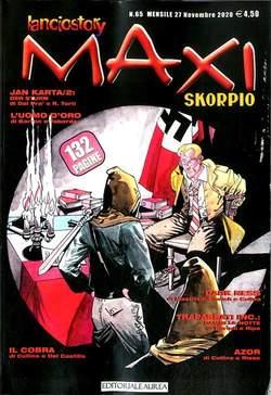 Copertina LANCIOSTORY SKORPIO MAXI n.65 - LANCIOSTORY SKORPIO MAXI, EDITORIALE AUREA