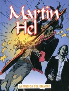 Copertina MARTIN HEL ANNO 13 n.4 - LA MUSICA DEL DIAVOLO, EDITORIALE AUREA