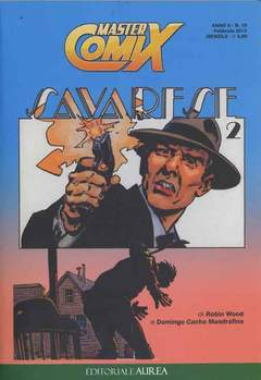 Copertina MASTERCOMIX n.10 - SAVARESE 2, EDITORIALE AUREA