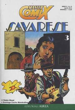 Copertina MASTERCOMIX n.12 - SAVARESE, EDITORIALE AUREA